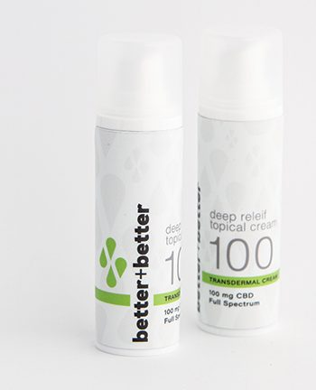 Better + Better 100mg topical pain relief cream